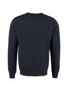C.P. Company Embroidered Cotton Sweatshirt - blue