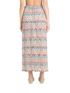 Missoni Knitted Wide Trousers With Side Slits