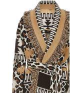 Alanui Leopard Cardigan - Camel