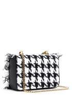 Balmain 'baby Ring Box' Bag - Black&White
