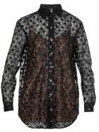 Marco de Vincenzo Laces Shirt - BLACK