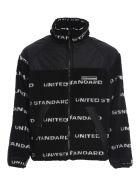 United Standard Fleece Logo Jacket - Blk Black