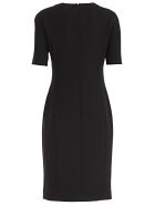 Versace Collection Embellished Pencil Dress - Nero