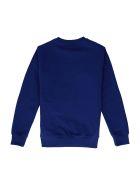 Young Versace Cotton Crew-neck Sweatshirt - blue