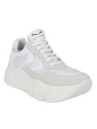 Voile Blanche Thick Sole Sneakers - White