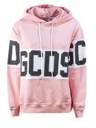 GCDS Pink Cotton Oversize Hoodie - Rosa