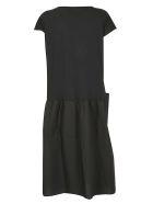 Roberto Collina Flared Dress - Black