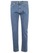 Versace Straight Leg Jeans - denim