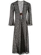 Dodo Bar Or Jane Long Lace Dress - BLACK (Black)