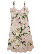 Dolce & Gabbana Floral Lace Dress - floral