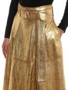 Golden Goose Skirt Akemi - Gold