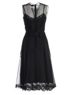 Simone Rocha Belted Dress - Black
