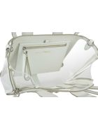 3.1 Phillip Lim Pashli Mini Transparent Satchel Bag - White