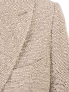 Maurizio Miri Wool Jacket - Paglia