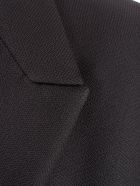 Versace Collection Single Breasted Coat - Nero