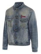 Gucci 'cat' Jacket - Azzurro