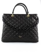 Avenue 67 Violante Bag In Black Leather - Nero