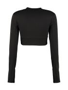 Artica Arbox Knitted Crop Top - black