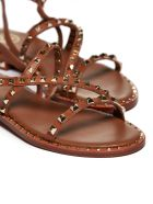 Ash Studded Sandals - Cuoio oro