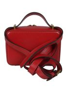 Valentino Logo Crossbody Bag - Rouge Pure