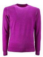 Drumohr Fuchsia Merino Wool Pullover - Fuxia