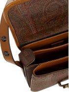 Etro Shoulder Bag Paisley - Brown