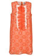 MSGM Lace Dress - ORANGE