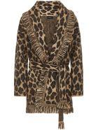 Alanui Leopard Cardigan - Leopard