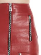 Manokhi 'biker' Skirt - Red