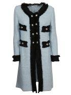 Charlott Knitted Coat - Azzurro