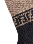 Fendi Gloves - Nero zucca