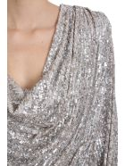 Nervi Carol Dress In Platinum Polyamide - platinum