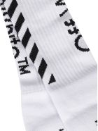 Off-White Diagonal Socks - White