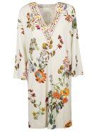 Etro V-neck Floral Print Dress - Basic
