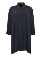 Agnona Silk Shirt - blue