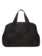 Maison Margiela Black Glam Slam 5ac Bag In Leather - Black