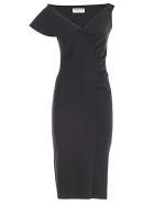 La Petit Robe Di Chiara Boni Chiara Boni La Petite Robe Asymmetric Dress - Nero