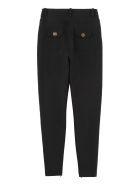 Elisabetta Franchi Celyn B. Decorative Zip Skinny Trousers - black