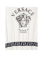 Young Versace Abito Medusa Bianco - Bianco