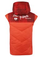 Woolrich Hooded Vest - Orange