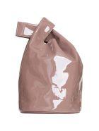 Jil Sander Small Market Patent Bucket Bag - ROSA