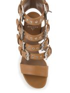 Laurence Dacade Kloe Buckled Leather Sandals - Cuoio