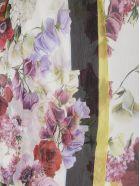 Dolce & Gabbana Floral Print Scarf - Hawortensie