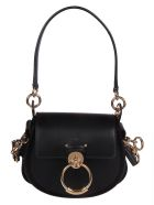 Chloé Tess Shoulder Bag - Black