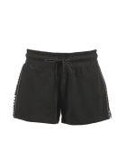 DKNY Logo Detail Shorts - Nero bianco