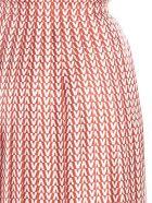 Valentino 'v Optical' Skirt - Multicolor