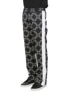 Valentino Vltn Print Trousers - BLACK WHITE