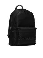 Dolce & Gabbana Logo Backpack - Nero