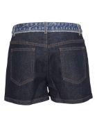 A.P.C. Paneled Denim Skirt - Blue