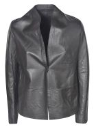 S.W.O.R.D 6.6.44 Classic Leather Jacket - Black